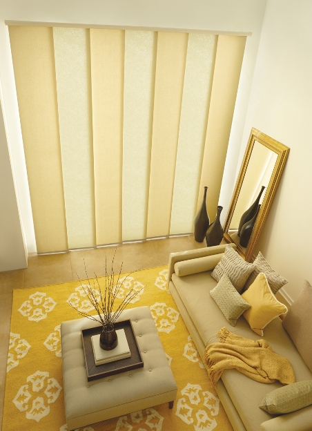 Call Blind Magic for top quality panel track blinds in North Highlands, CA